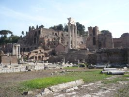 Forum Romanum Ruins STOCK by Chiron178