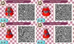 ACNL QR: Auron's Jacket by Janku-Roketto