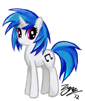 Vinyl Scratch Digital Test by Zyncrus