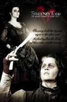 sweeney todd poster entry 10 by pamv