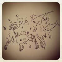 ~Under The Sea~ by Belynx16