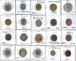 Coin collection part 2 by juliorabbit2
