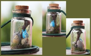 Bottle of Totoro by GloomySisterhood