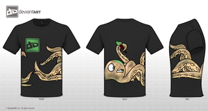 Deviant Octo-Shirt by wolfmeg