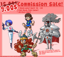 Commission Sale! by The-Knick