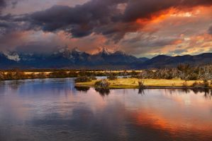 Torres del Paine, Chile by MICHAELSTEELE