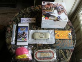 Console bundle Psp Monster Hunter 2nd Portable by ninjamaster76