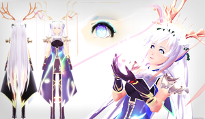 [MMD] XERNEAS contest entry thing [OLD] by whimsicottsh