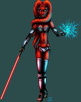 Darth Talon by iSk8er95