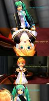 MMD It's not what you think by MMDMikuMikuLen