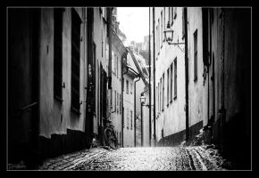 Old streets of Stockholm by DreamSand