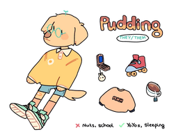 pudding ref 2 by Luxjii