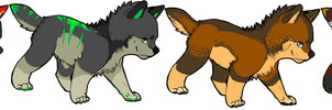 Adoptables batch 1 (Closed) by Ryvix