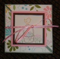 Handmade Trifold Card - Closed by rlhcreations