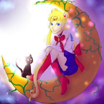 Sailor Moon 2 by cha-ris
