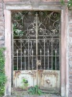 old iron door by mimose-stock