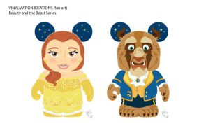 Ballroom Belle and Beast by CBeeProject