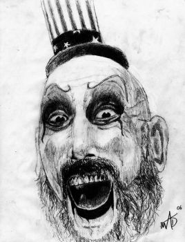 Captain Spaulding by Murdertz