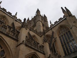 Bath Cathedral 01 by DanB-Graphic-and-Web