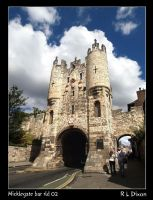 Micklegate bar York by richardldixon