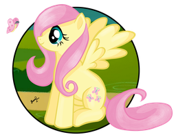 Fluttershy by KonekoKisses