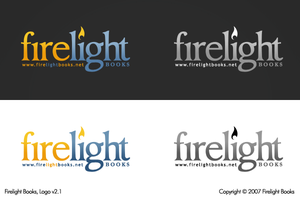 Firelight Books Logo, v2.1 by ExtraNoise