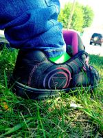 Put on Your... Skateboarding Shoes? by IntoxicatingKiss