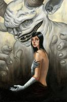 The Girl with Silver Hands by areimold
