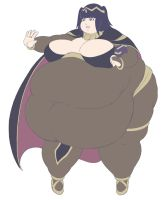 Fat Tharja by Eishiban