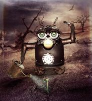 Organic Mechanic by violscraper