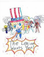 THE LEGION WANTS YOU! by littlehobbitdancer