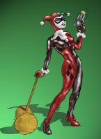 Harley Quinn by PookiePony