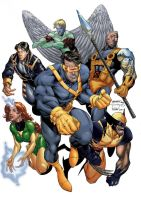 Astonishing X Men Cover 1 by blademanunitpi