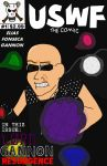USWF Comic #1: Lord Gannon by jamesgannon
