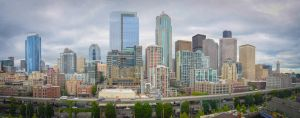 Seattle skyline by ShannonCPhotography
