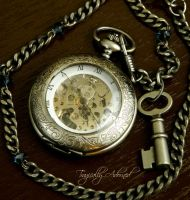 Wonderland Pocket Watch by Nya99
