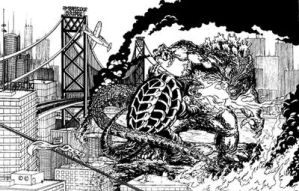 Godzilla vs Gamera by kaijuverse