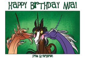 Happy Birthday to LOSMIOS by Starhorse