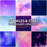 Sparkles and Stars background collection 3 by Suuz-chan