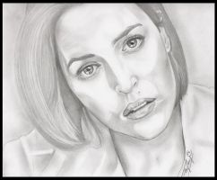 Dana Scully - X-Files by TheNightGallery