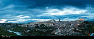 View of Toledo, Spain by MonLerma
