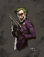 The Jokester by angel5art