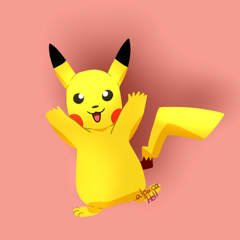 Pikachu by alpacaHell