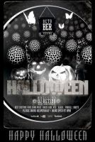 PSD Halloween Bash Flyer/Poster Template by retinathemes