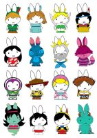 Generation Miffy-Extra Disney by likimonster