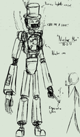 A Sketch of a Nuclear Robot by Number9Robotic