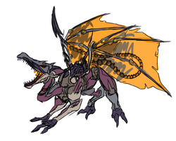 Omega Ridley Again WIP by Cryophase