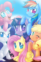 My Little Pony: Friendship is Magic by SonicandMe901