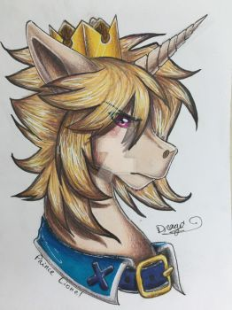 [Gift] Prince Lionel for Prince-Lionel by Drago-Draw