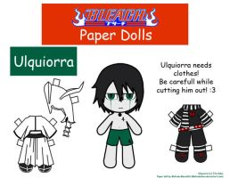 Ulquiorra Paper Doll by Malindachan
